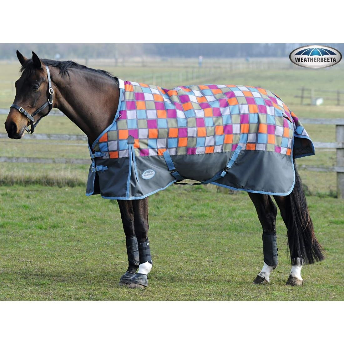 Weatherbeeta Snowman Rug: Weatherbeeta 1200D Medium Weight Standard Neck Turnout Rug