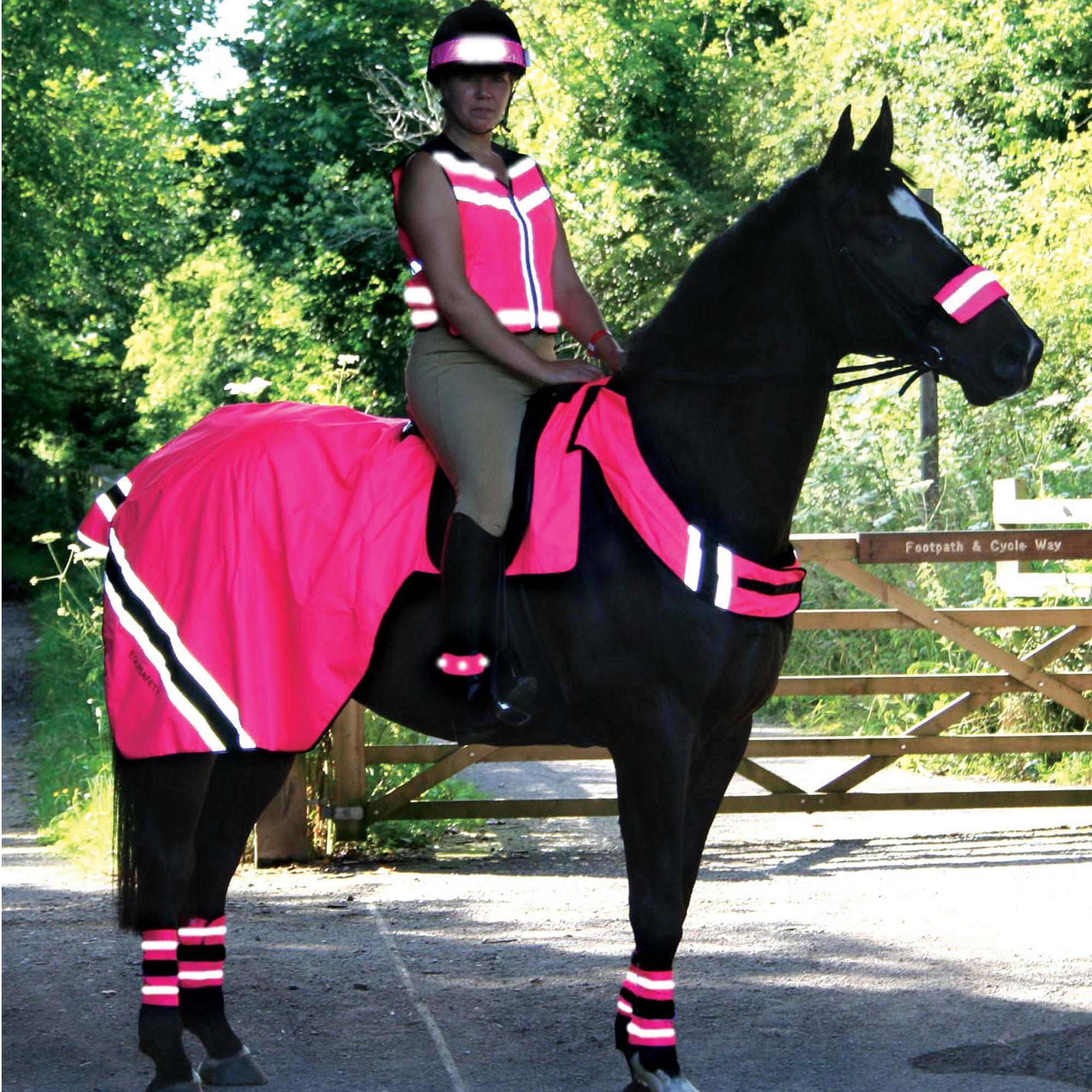 pink hi vis road rage