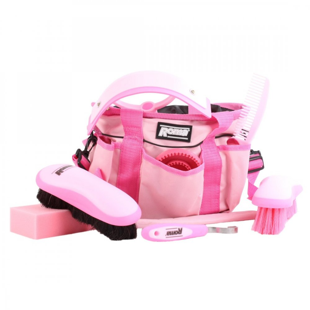 Roma Deluxe Carry Bag Grooming Kit Equine Mania