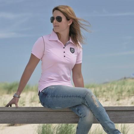 16030 Esperado Army Polo Shirt Rosa