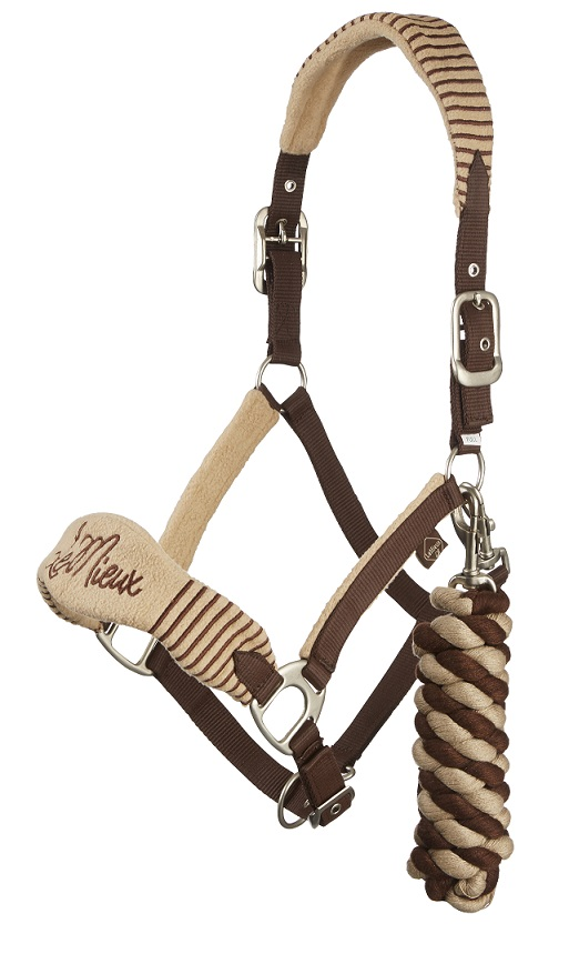 Le Mieux Vogue Fleece Headcollar Amp Leadrope Equine Mania